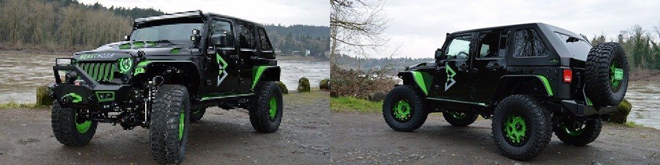 Marshawn Lynch Beast Mode Jeep Wranglers Up For Auction