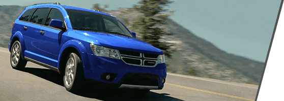 Blue Dodge Journey in Richmond, BC