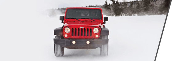 Red Used Jeep Wrangler
