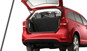 Used Red Dodge Journey Trunk