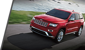 Used Red Jeep Grand Cherokee in Vancouver