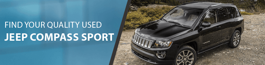Used Jeep Compass Sport in Richmond, BC