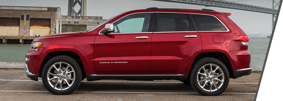 Red Used Jeep Grand Cherokee