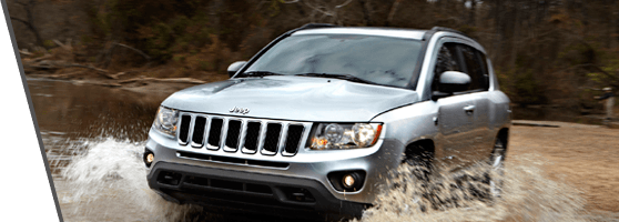 silver used Jeep Compass in Vancouver, BC