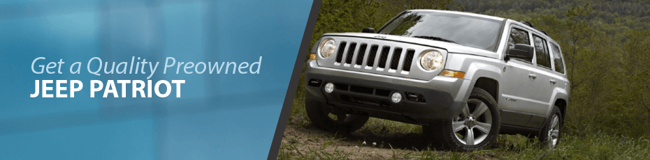 silver used Jeep Patriot in Vancouver, BC