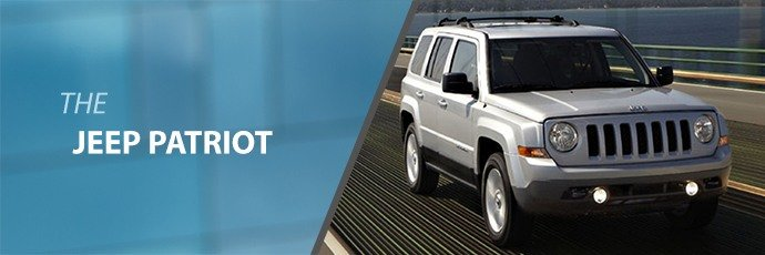 Used Jeep Patriot off road